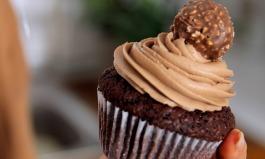 Rocher-Nutella-Cupcakes