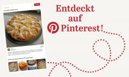 Schneller Apfelkuchen - entdeckt auf Pinterest
