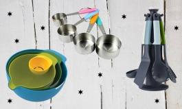 Platzsparende Küchenhelfer