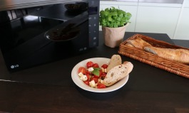 Tomaten-Feta aus der Mikrowelle