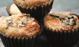 Muffins mit Blauschimmelkäse? Lecker!