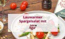 Spargelsalat mit Saint Agur