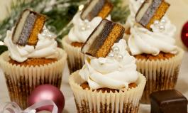 Dominostein Mini Cupcakes