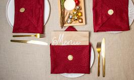 Neue Ideen für weihnachtliche Servietten