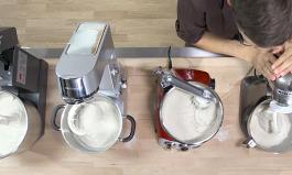 Brotteig mit der Küchenmaschine kneten