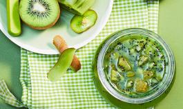 Kiwi-Sekt-Konfitüre