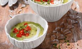 Rezept kalte Zucchini-Joghurt-Suppe