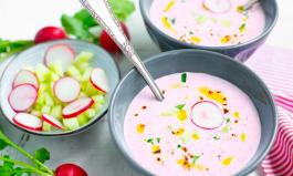 Frisch und gesund: Radieschen-Suppe