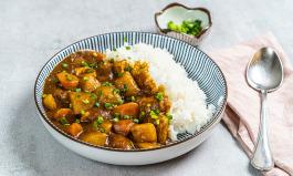 Kare Raisu authentisches japanisches Curry