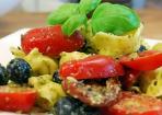 Tortellini-Pesto Salat