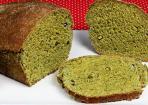 Spinatbrot: veganes grünes Brot