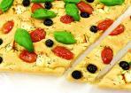 Italienisches Foccacia-Brot - Fladenbrot