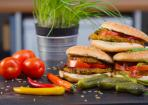 Veganer Gemüse-Burger