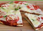 Pizza aus der Pfanne: einfach und schnell