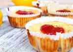 Lemon Cheesecake im Cupcakestyle: Käsekuchen im Mini-Format