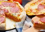 Herzhafter Pizzakuchen