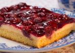 Kirsch-Schmand-Blechkuchen: schnell gebacken