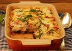 Überbackene Auberginen Lasagne-Style