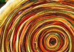 Gemüse-Tarte mit bunter Spirale