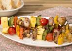 Gemüsespieße selber machen