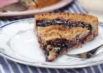 Linzer Torte: Nussteig mit Joannisbeer-Konfitüre
