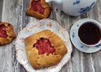 Mini Erdbeer-Galettes
