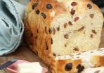 Rosinenbrot wie frisch vom Bäcker
