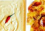 Kartoffelchips mit Guacamole: würziger Snack