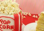 Popcorn Cake – perfekt für Filmfans