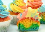 Rainbow Cupcakes – einfach und schnell