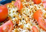Scharfer Tomaten-Nudelauflauf: Mediterrane Hauptspeise