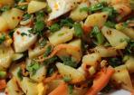 Kartoffelsalat mit Ei und pikantem Dressing