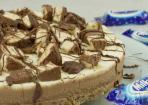 Milky-Way-Schokoladen-Torte ohne backen