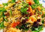 Gerösteter Kürbis-Bulgur-Salat