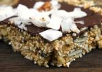 Amaranth-Nuss-Riegel– vegan & glutenfrei