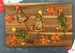 Pizza-Weihnachtsbäume