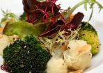 Gebratener Blumenkohl und Brokkoli