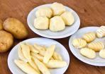 Beilagen aus Kartoffel