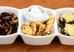 Pilze - Rezepte in drei Variationen