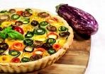 Gemüse-Blüten-Tarte einfach zubereiten