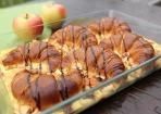 Croissant-Apfel-Auflauf aus dem Dampfgarer