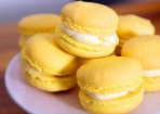 Zitronen-Thymian-Macarons