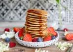 Schnelle Pancakes aus 3 Zutaten